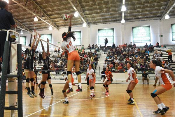 Calendario 2017-2018 Voleibol Sala Femenil 1a. Fuerza