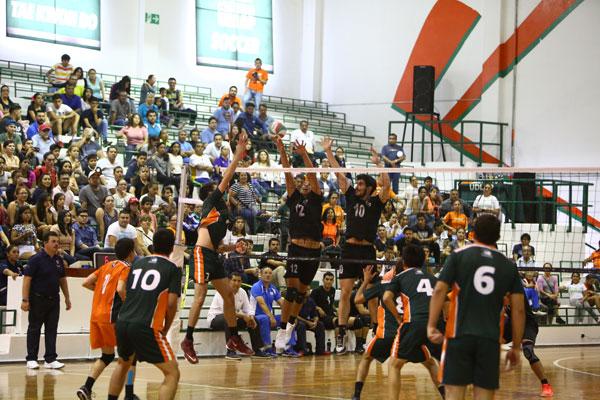 Calendario 2017-2018 Voleibol Sala Varonil 1a. Fuerza