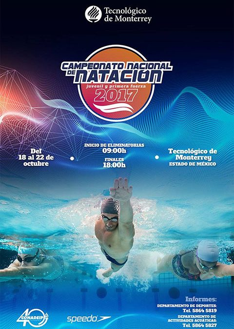 Resultados Campeonato Nacional de Natación