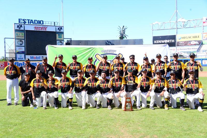 CETYS Tijuana Campeón Nacional de Béisbol 2019