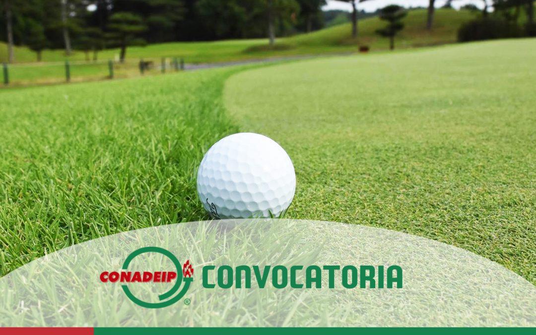 Convocatoria a la 3ra Etapa del Circuito Nacional Universitario de Golf