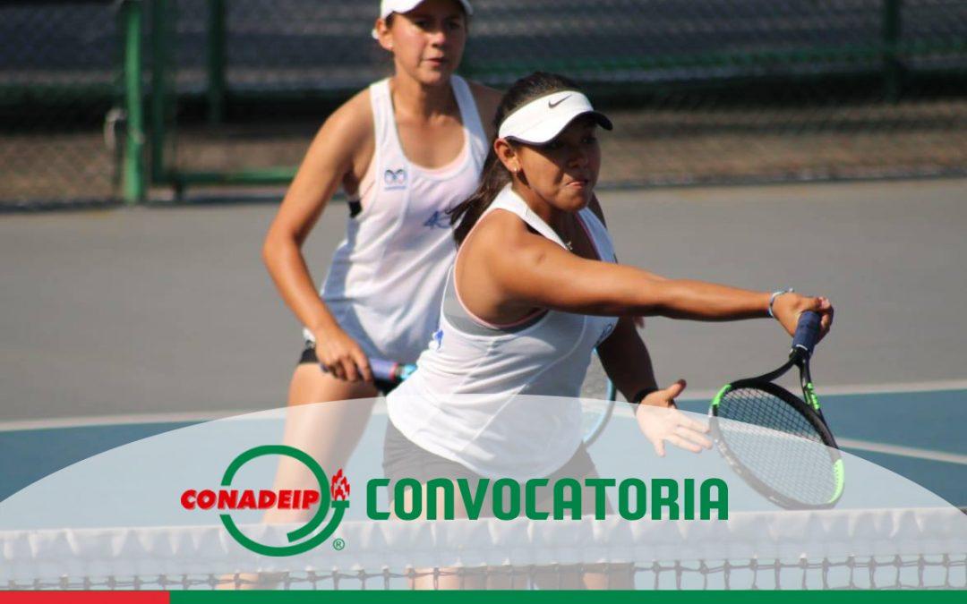 Convocatoria a la 2a Etapa del Circuito Nacional de Tenis Universitario