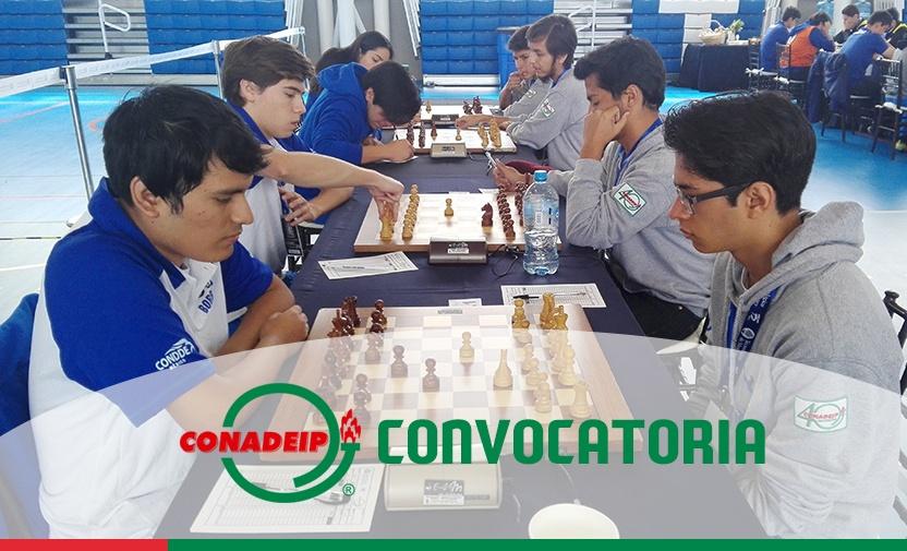 Convocatoria al Campeonato Nacional de Ajedrez por Equipos 2019