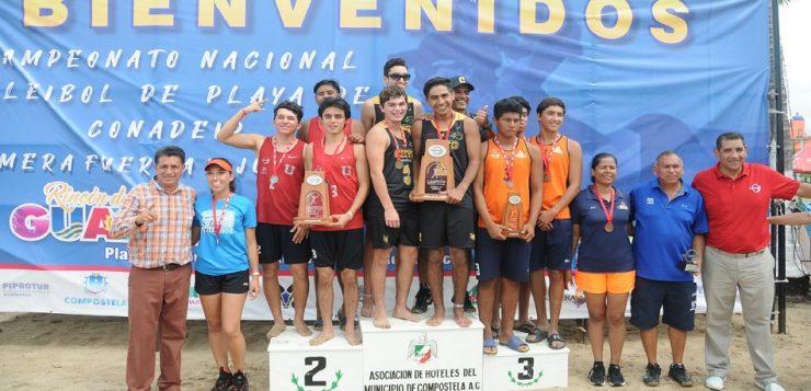 Conoce a los ganadores del Campeonato Nacional de Voleibol dePlaya 2019