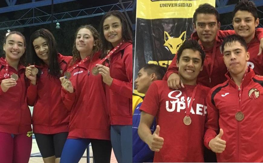 10 medallas y contando para la UPAEP en el Nacional de Natación 2019