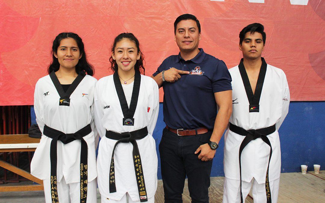 La Inter a la conquista de medallas en el Campeonato Nacional de Taekwondo