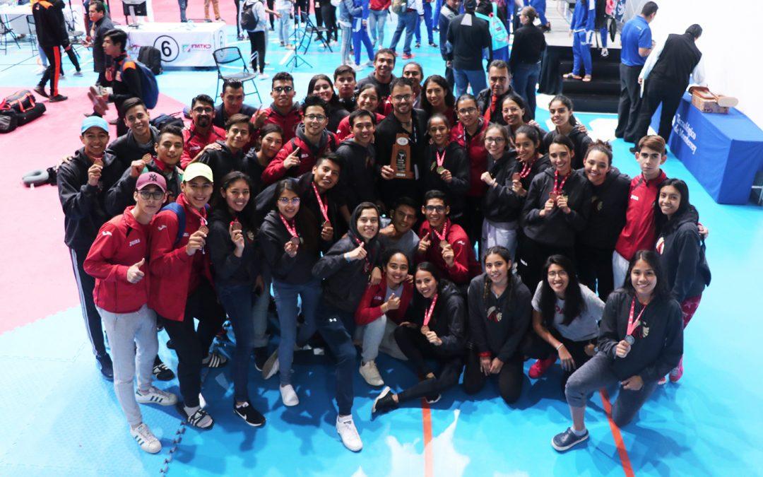 16 medallas para UPAEP en Nacionales de Taekwondo