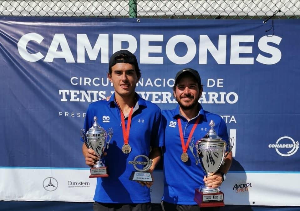 Primer lugar para el Tec Guadalajara en el Campeonato Nacional de Tenis