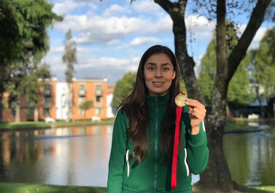 Doneshka Díaz cierra con broche de oro su etapa como deportista universitaria