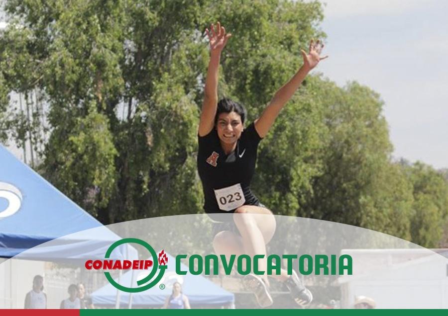 """Convocatoria al Campeonato Nacional de Atletismo Juvenil""""C"""" y 1a. Fuerza 2020"""