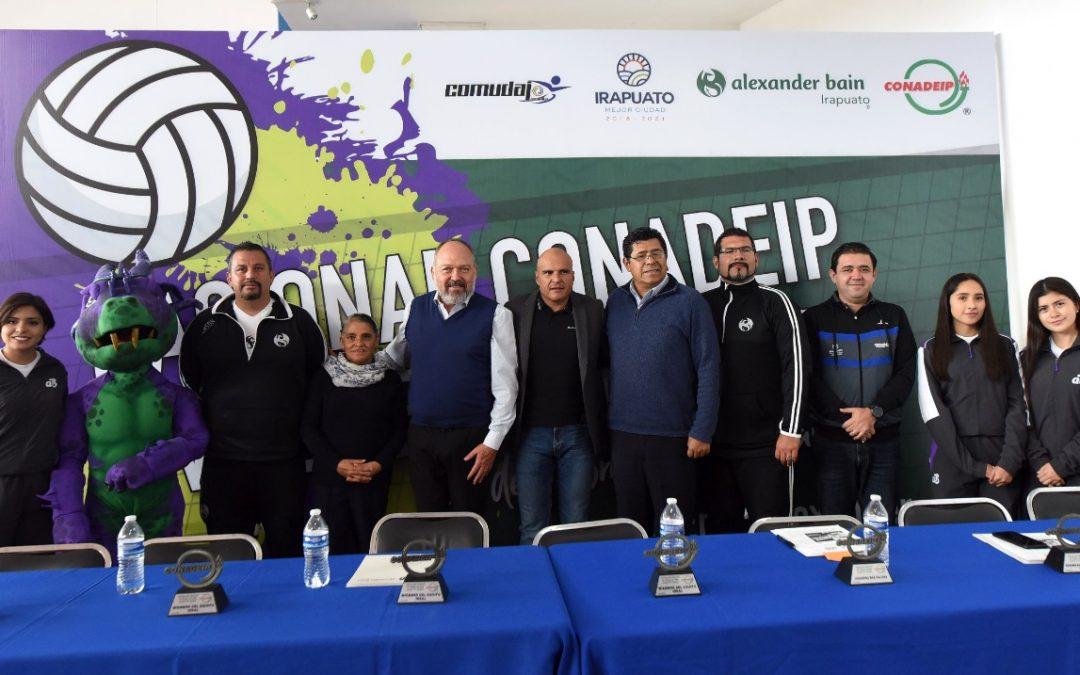"""Presentan a Irapuato como sede del Nacional de Voleibol  Juvenil """"A"""" 2020"""