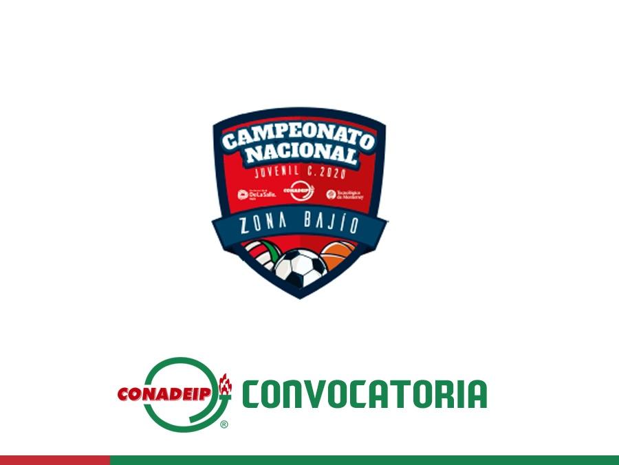 """Convocatoria a los Campeonatos Nacionales de Basquetbol, Fútbol Rápido Varonil, Voleibol de la  Categoría Juvenil """"C"""""""