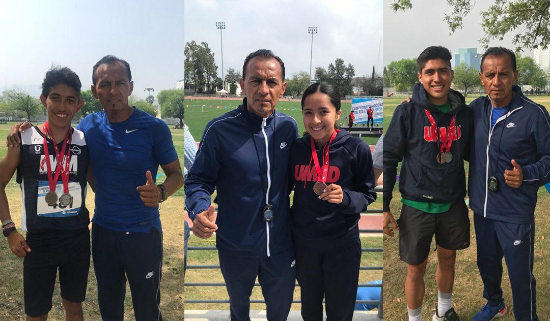 Atletas de medio fondo de UMAD cumplieron en el Nacional 2020