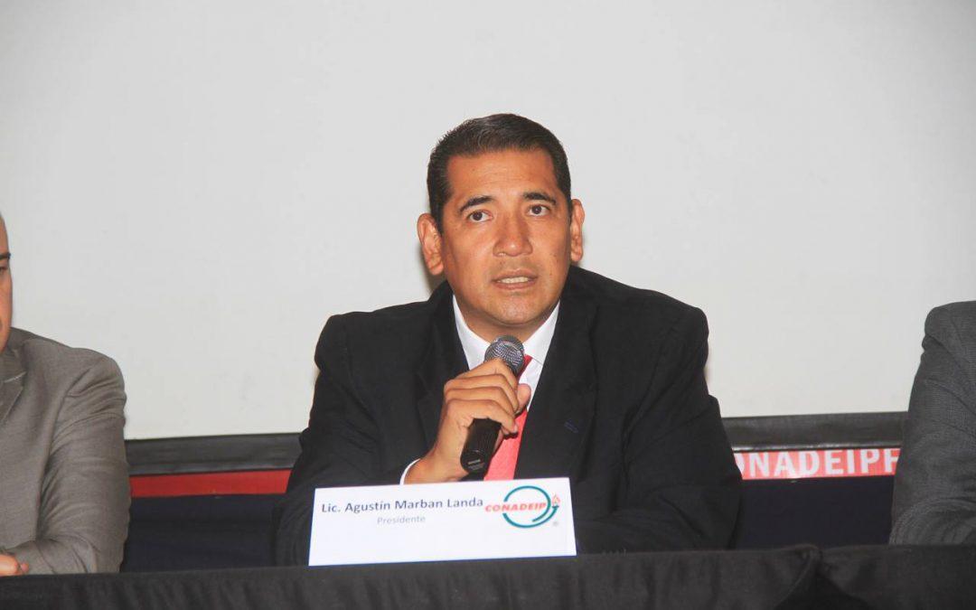 """""""Siempre buscamos el beneficio del deporte estudiantil"""": Agustín Marbán"""