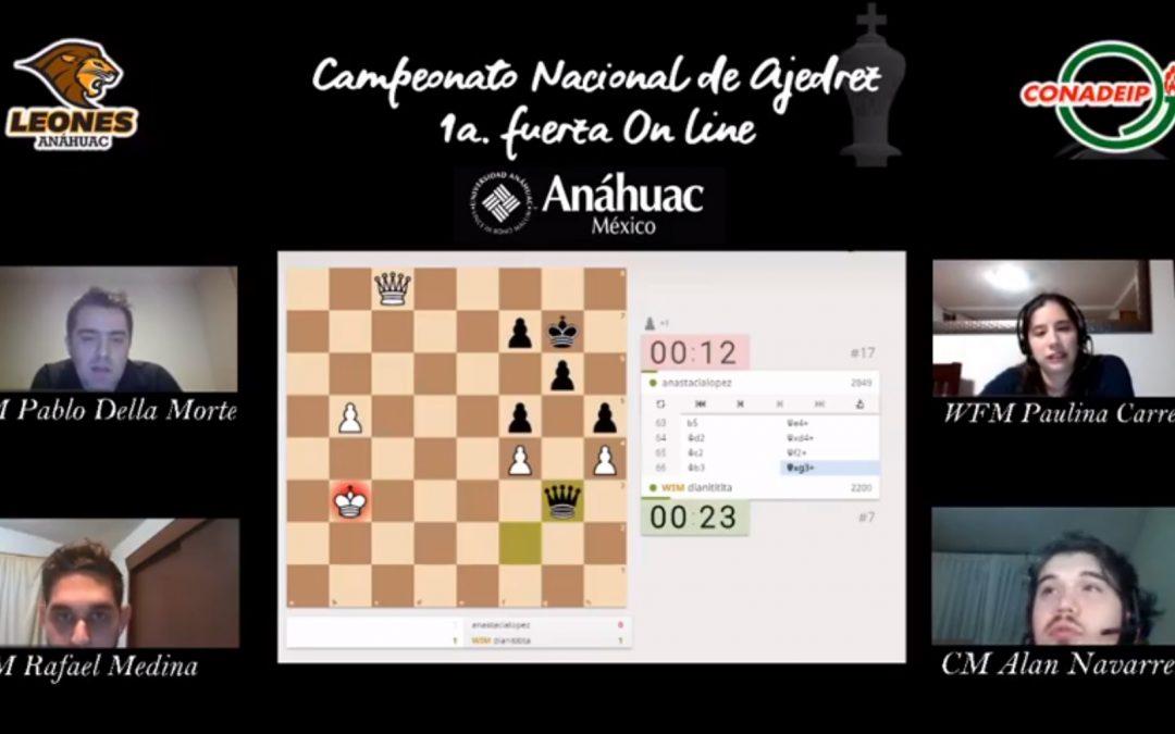 El Tec Puebla campeones nacionales de Ajedrez On Line 2020