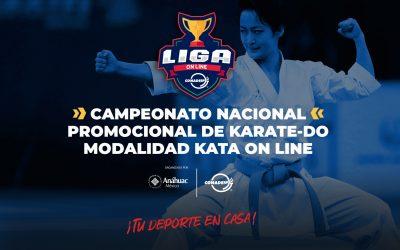Convocatoria al Campeonato Nacional Promocional de Karate (KATA) Online 2021