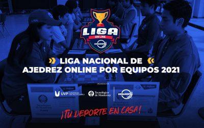 Convocatoria a la Liga Nacional de Ajedrez OnLine por equipos 2021