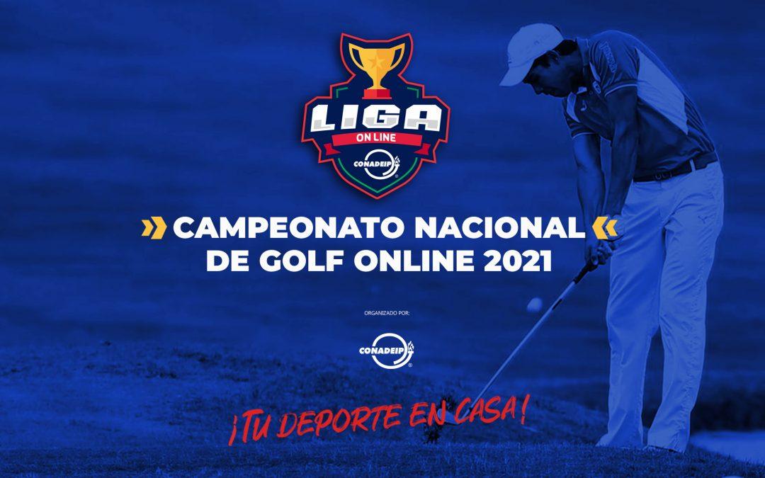 Convocatoria al Campeonato Nacional de Golf Online 2021