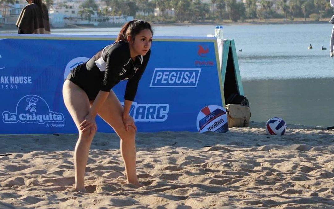 La voleibolista Danna Cortés busca el boleto a Tokio